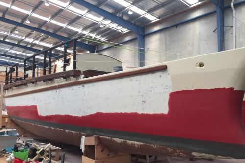 Okeanos Aotearoa in for full refit.