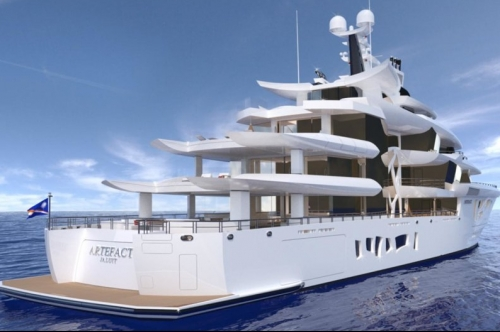 Superyacht Project 'Artefact' unveiled